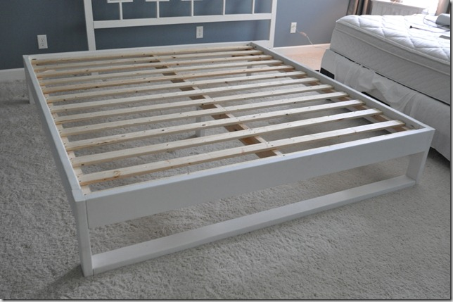 Simple Bedframe Tutorial — Decor and the Dog