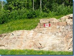 7732 Ontario Trans-Canada Hwy 17 - Canada Flag