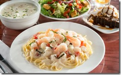 Shrimp and Scallops Linguini