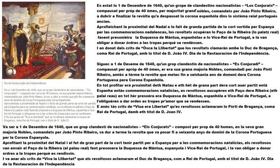 1er decembre 1640