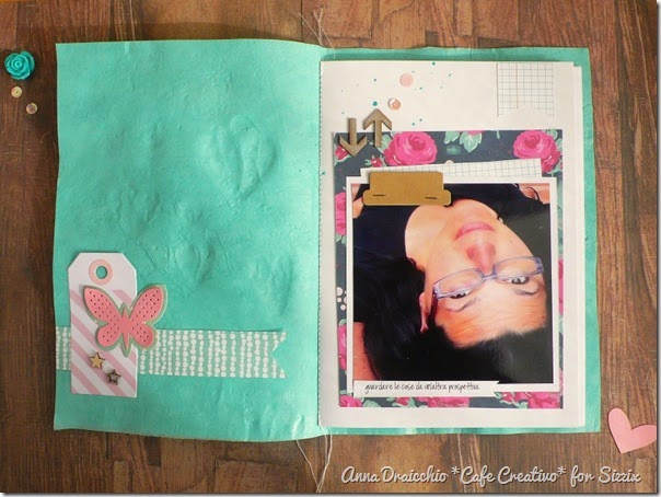 sizzix big shot - scrapbooking - fusing plastic bags - mini album - tutorial - by Anna Drai - cafecreativo (4)
