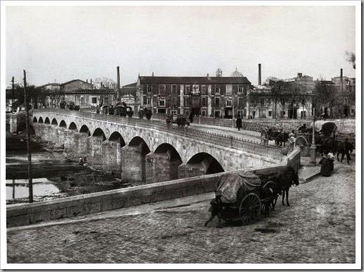 Puente de san jose en los años 40