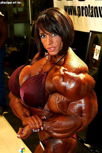 Muscle Morph Area Orion Female Women Womens Muscles