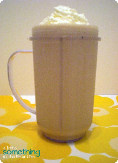 Protein Smoothie with cream WM