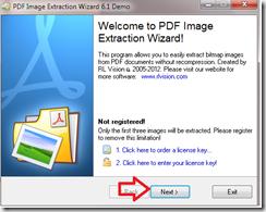 การใช้งานแยกรูปภาพจาก pdf
