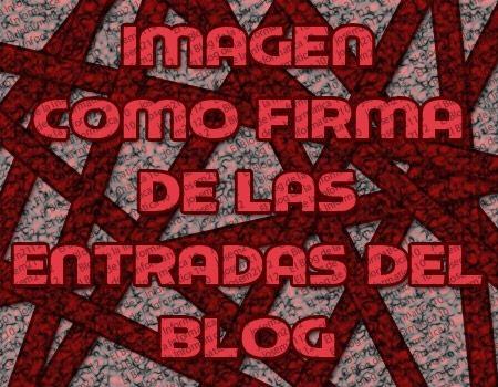imagen como firma de las entradas del blog - imagen principal del post