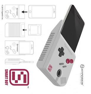 Smart Boy : la coque pour iPhone 6 Plus pour jouer à la Gameboy