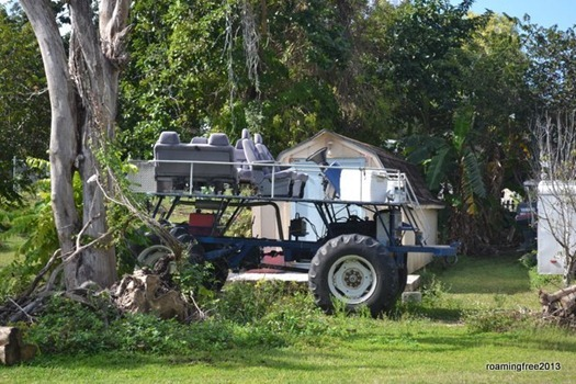 Homemade Swamp Buggy!