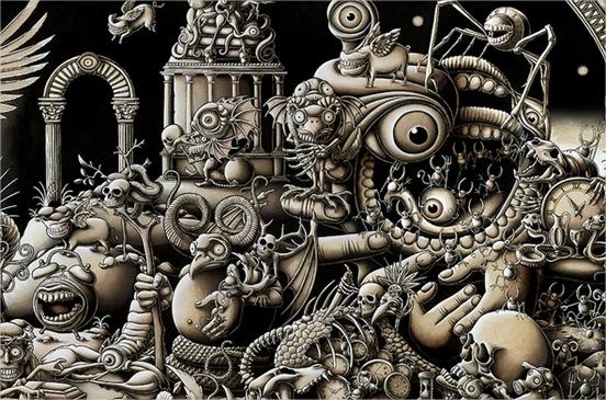Joe Fanton, y los dibujos más extraordinarios que he visto