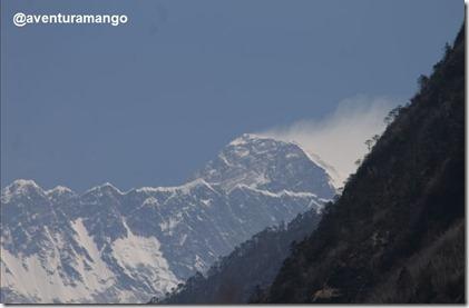 Primeira visão do Everest