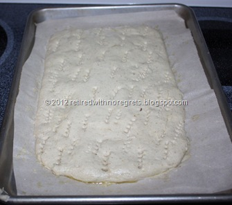 Easy Focaccia - Gluten-free - raised