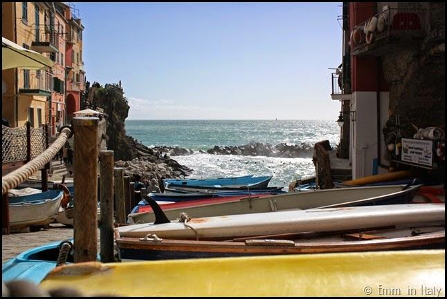 Alone in Riomaggiore