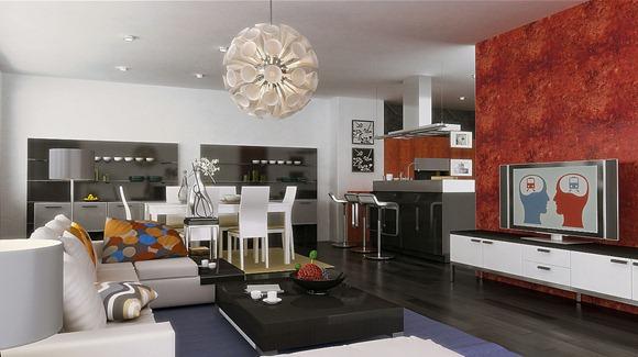 diseños de sala-comedor