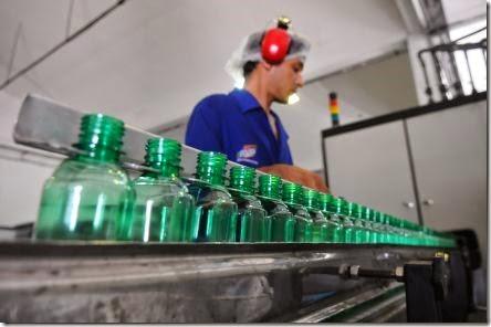 Mercado de bebidas - Mais sabor Na foto: Empresa Mais Sabor Foto: Deivyson Teixeira em 19/04/2012