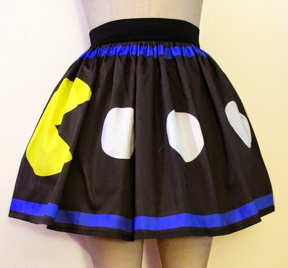 PacMan Skirt from Go Follow Rabbits