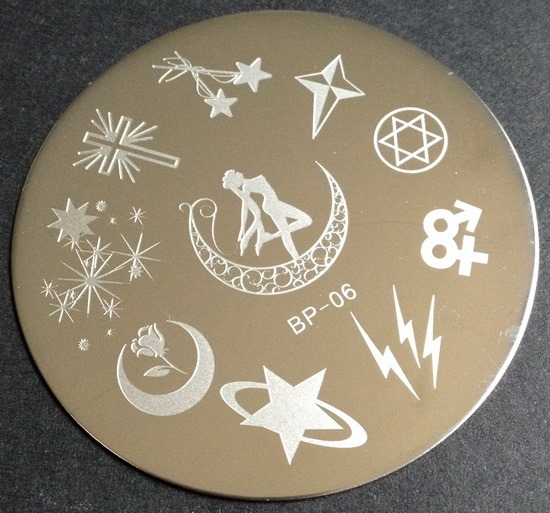 BP-06 stamping plate from BornPrettyStore