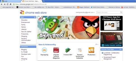 angry birds chrome2