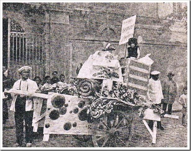 Horno de San Francisco. Anuncio del Poste Martí. 1922