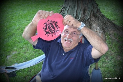 Danny busted another whoopie cushion!