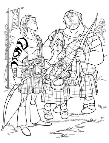 disney merida brave coloring pages-coloring-pages-brave-valente-merida-desenhos-colorir