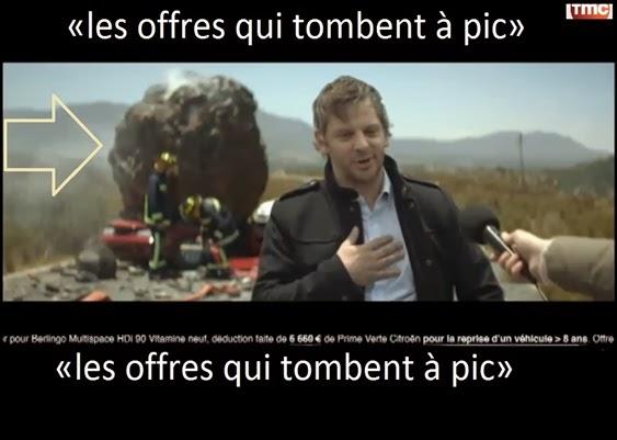 Publicitat francesa per una assegurança