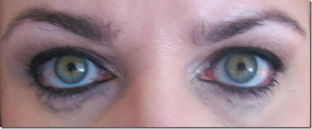 Rimmel Special Eyes after 4 hour
