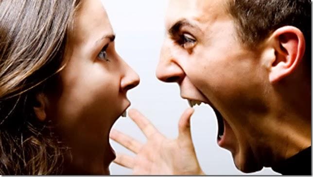 結婚夫婦吵架