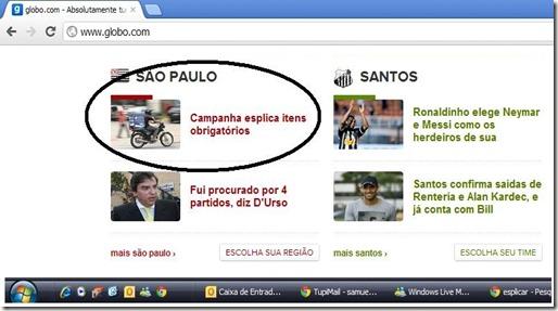 Globo com o explica