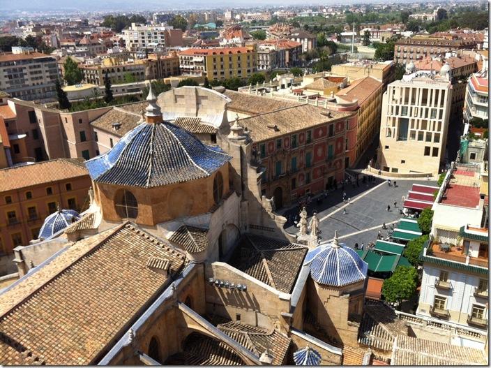Vista desde la Torre de la Catedral de Murcia-CuadernodePilibyLuzVB