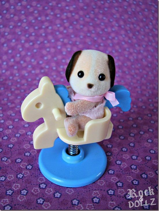 Sylvanian Beagle Dog Baby Boy