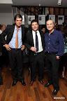 Santiago García Calvo, de Banco Galicia, Jorge Roig y Alejandro Raineri. Foto: Producción Mirabaires.