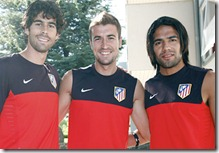 tres capitanes del atlético de madrid