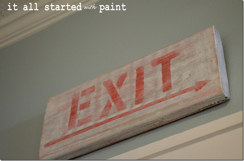 exit-sign-weathered-distressed-white-washed