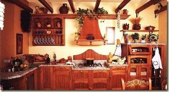 decoracion de cocinas rusticas6