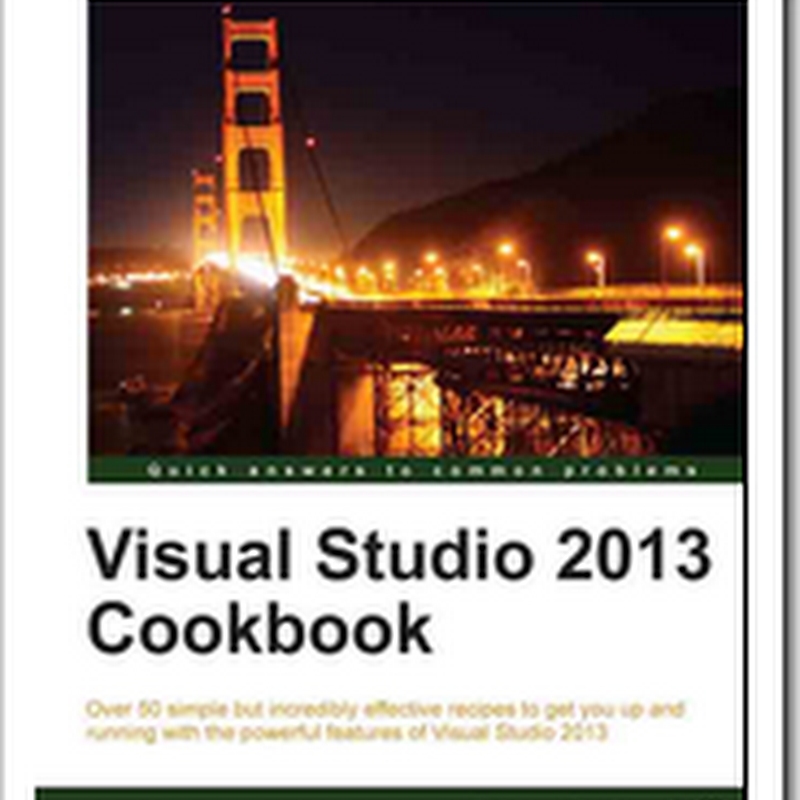[Book Review] Visual Studio 2013 Cookbook