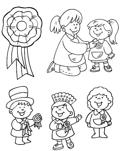 Dibujos día de la escarapela | Manualidades InfantilesManualidades ...
