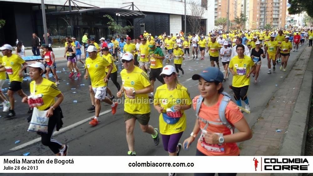 cierres viales media maraton de bogota