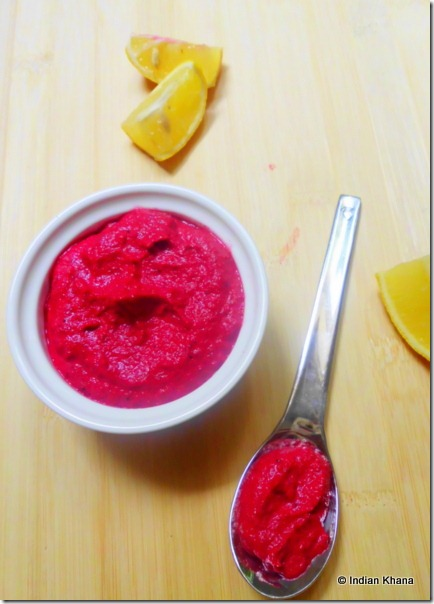 Roasted beets beetroot pesto recipe (2)