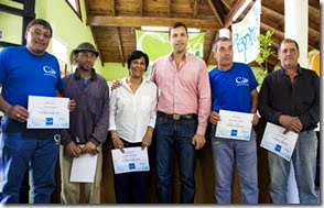 Empleados de la delegación de Villa Clelia recibieron la notificación del pase a planta permanente