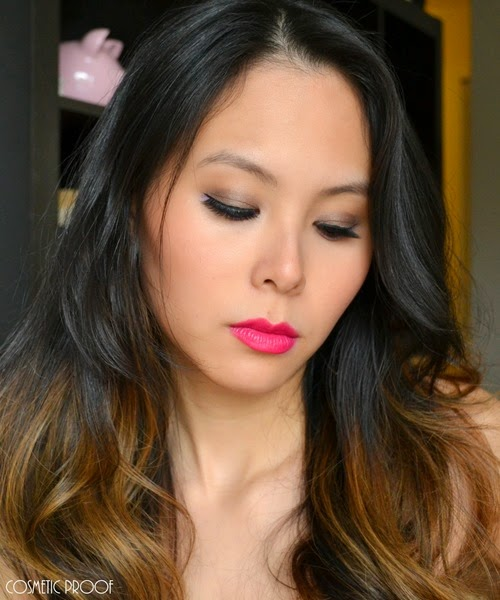 NYC Beauty Pro Demi Lovato Makeup Look Review (2)