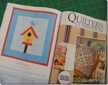 Birdhouse Mini in Quilter's Companion