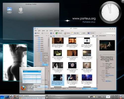 Porteus 1.2 - KDE4