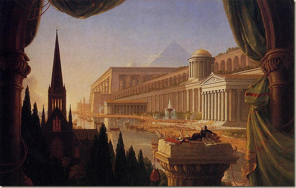 Thomas Cole, The architect' s vision