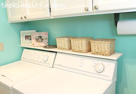 Marvelous Laundry room shelf