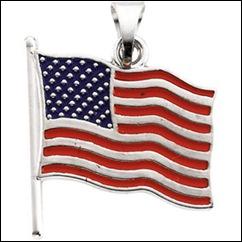 Patriotic US Flag Jewelry