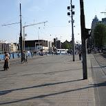 amsterdam central station in Amsterdam, Noord Holland, Netherlands