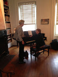 Piano by Kathy Thompson�<br /> Building Home Building Hope and Judith Speckman Russell exhibit opening