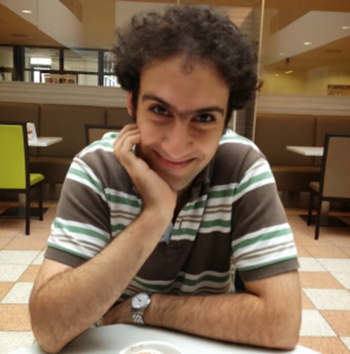 Kasra Hassani is a former researcher in microbiology and immunology who gave up the lab to study public health. He now likes to sit at the intersection of research and the society. Photo: CSWA