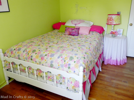 Fairy Garden Big Girl Bed