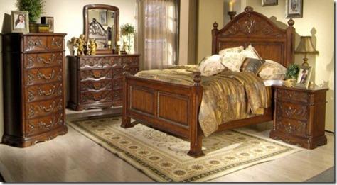 Classic Wooden Bedroom Furniture Design